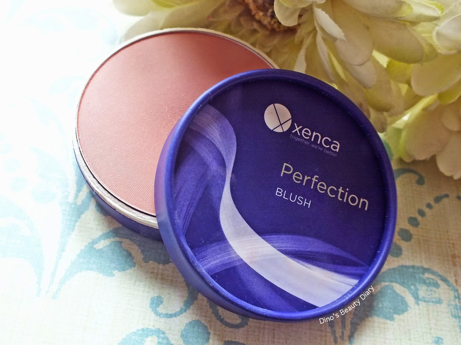 Dino's Beauty Diary - Make Up Review - Xenca Perfection Blush in 'Rose'