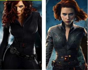 Pink Pontification Black Widow Iron Man 2 Vs The Avengers