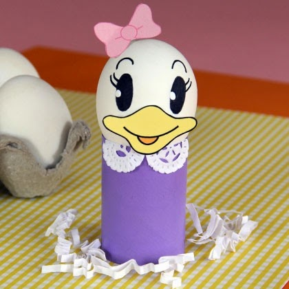 Daisy Duck Easter Egg