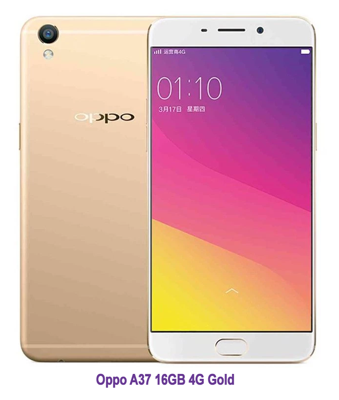 Info Harga Oppo A37 16GB 4G Gold