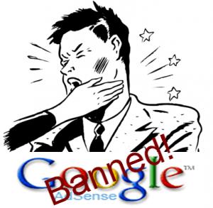 Ilustrasi di Banned AdSense