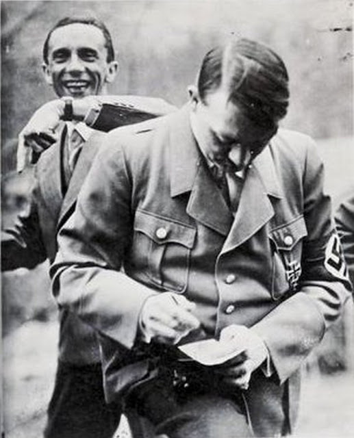 Hitler Goebbels Breaking the Fourth Wall worldwartwo.filminspector.com