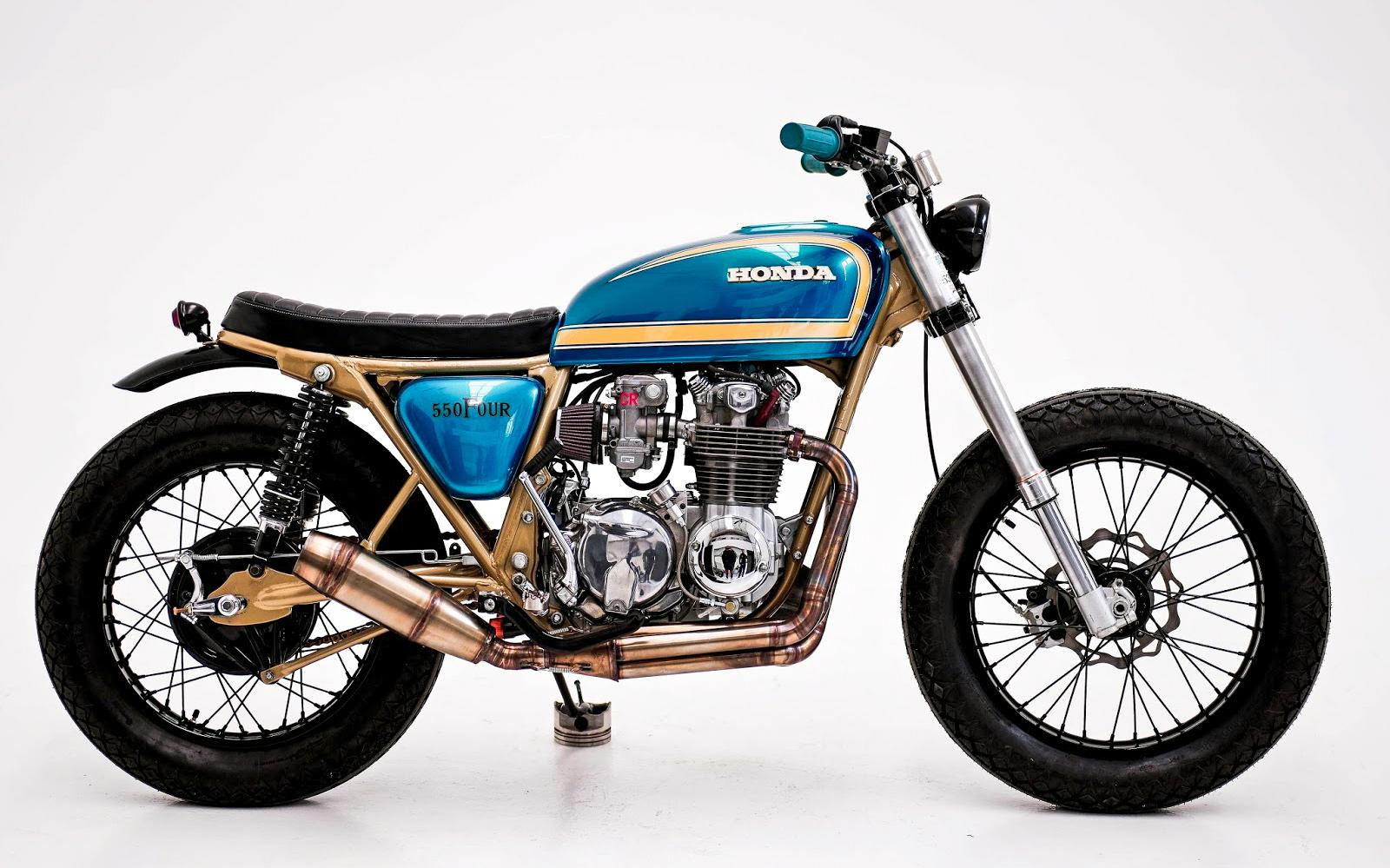 Inazuma café racer: CB550 by Kevin Dinsmoor | Cafe racer