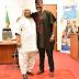 Dancing Senator, Ademola Adeleke and Dino Melaye All smiles In New Photo