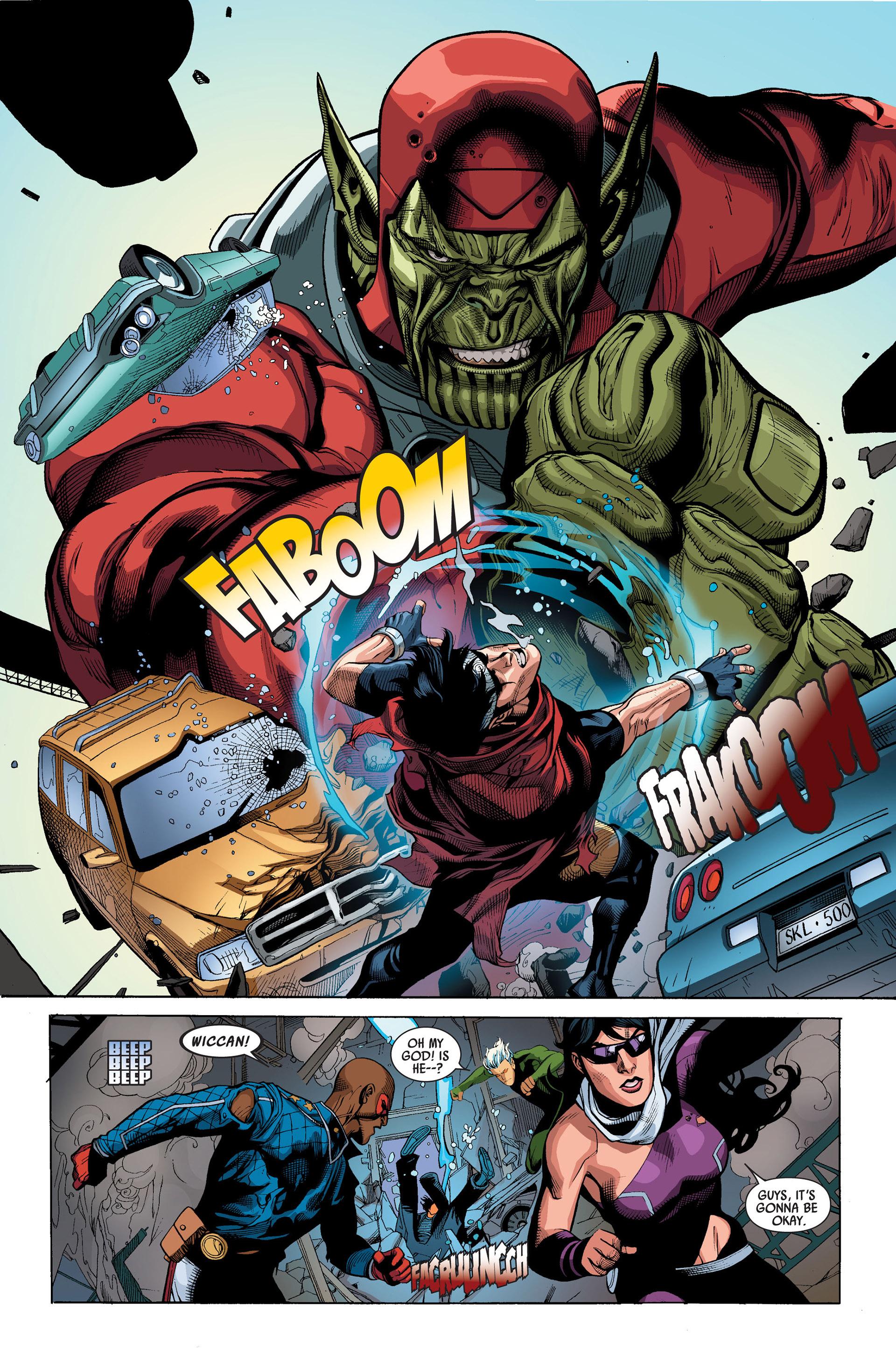 Read online Secret Invasion comic -  Issue #3 - 9