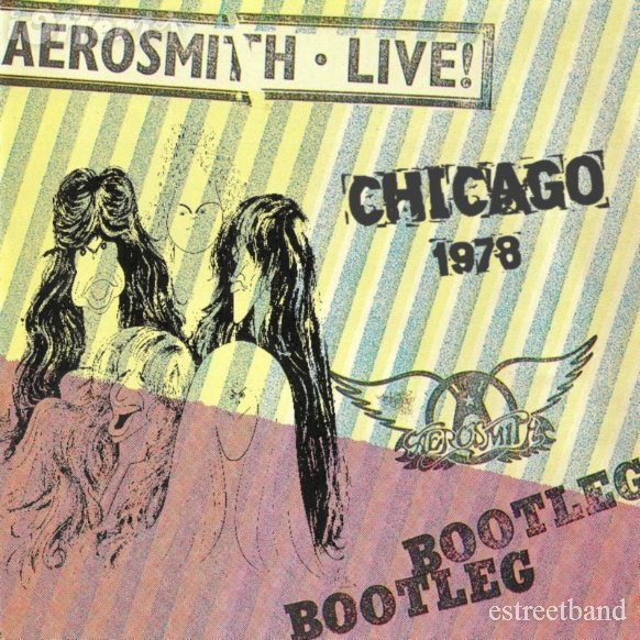 Album aerosmith live cover bootleg