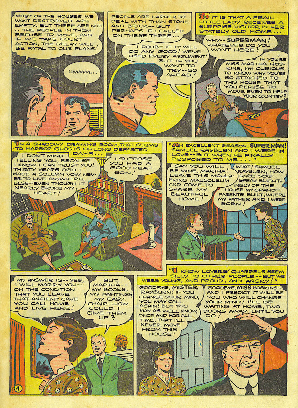 Read online Action Comics (1938) comic -  Issue #67 - 6