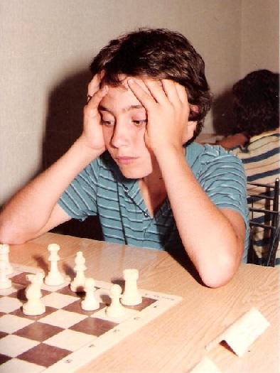 El ajedrecista Daniel Travesset Ribera en 1983