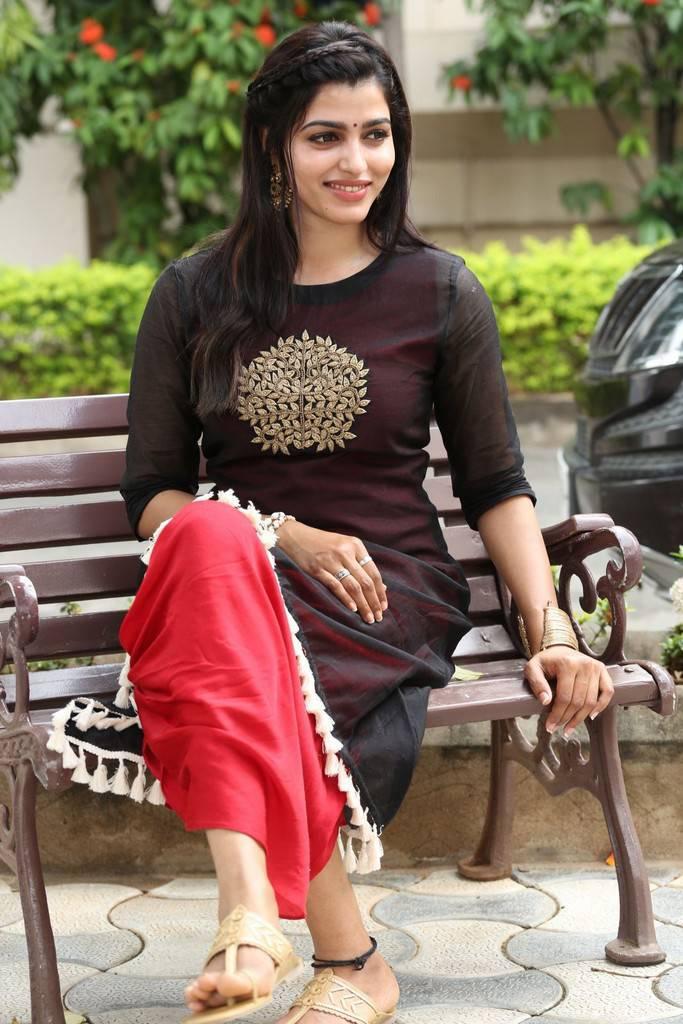 Dhanshika hot looking Smiling Face