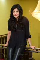 Shruti Haasan Looks Stunning trendy cool in Black relaxed Shirt and Tight Leather Pants ~ .com Exclusive Pics 029.jpg