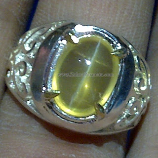 Cincin Batu Opal Cat Eye - ZP 1038