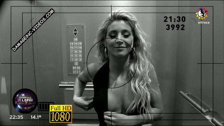 Maria Sol Perez hot cleavage oops Damageinc Videos HD