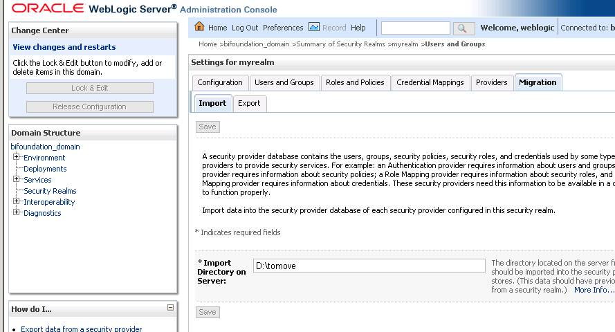 Migrate users and security to OBIEE 12c - Michele di Nuzzo