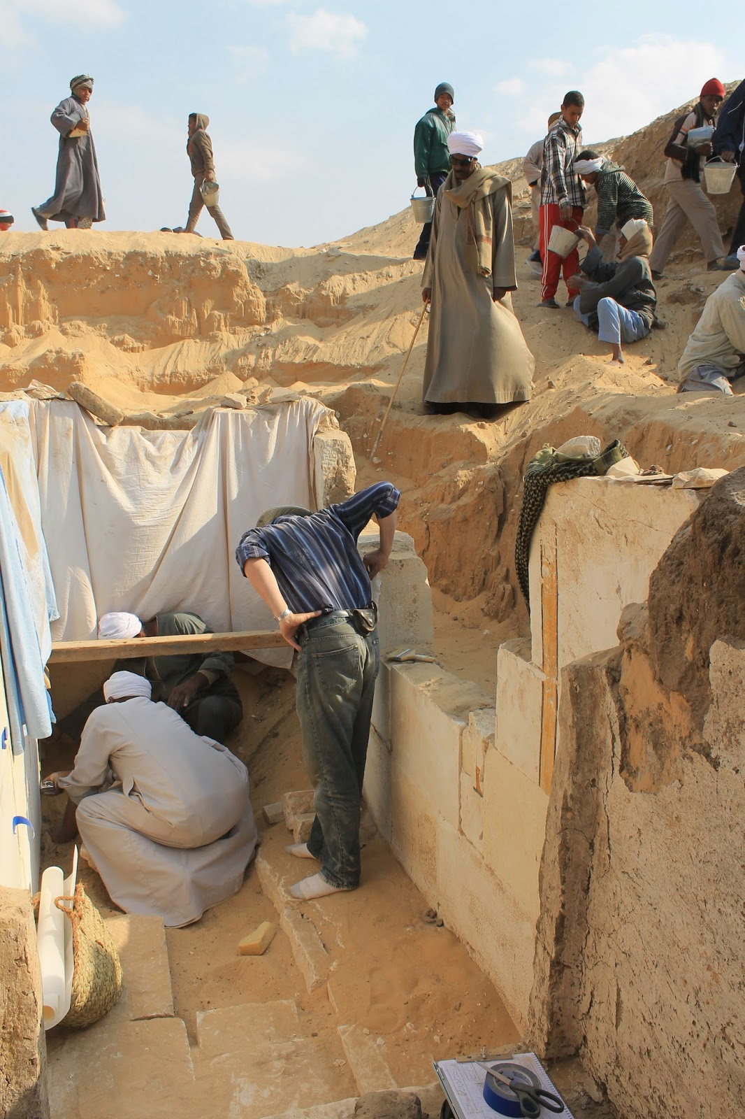 More on Discovery of forgotten Egyptian pharaoh