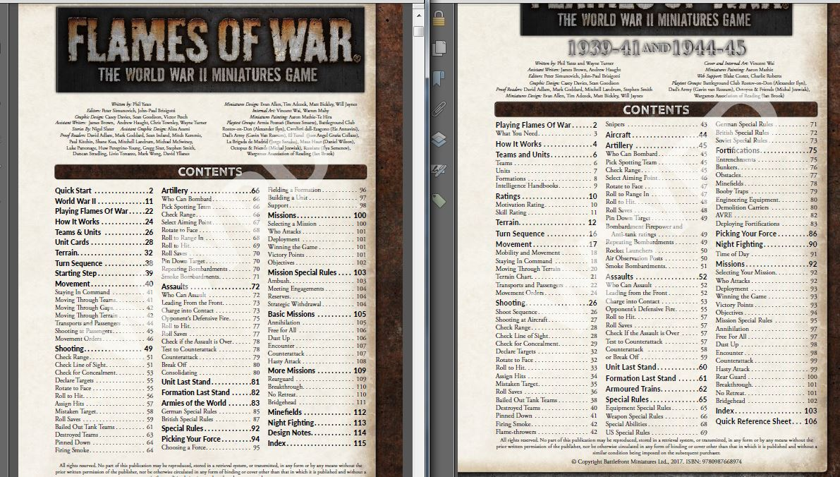 Flames of War, V4 Rules, Reviewed and Spoiled ~ WWPD: Wargames ...