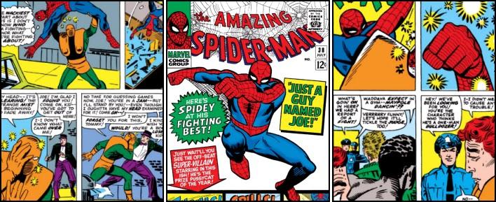 spiderman just a guy named joe