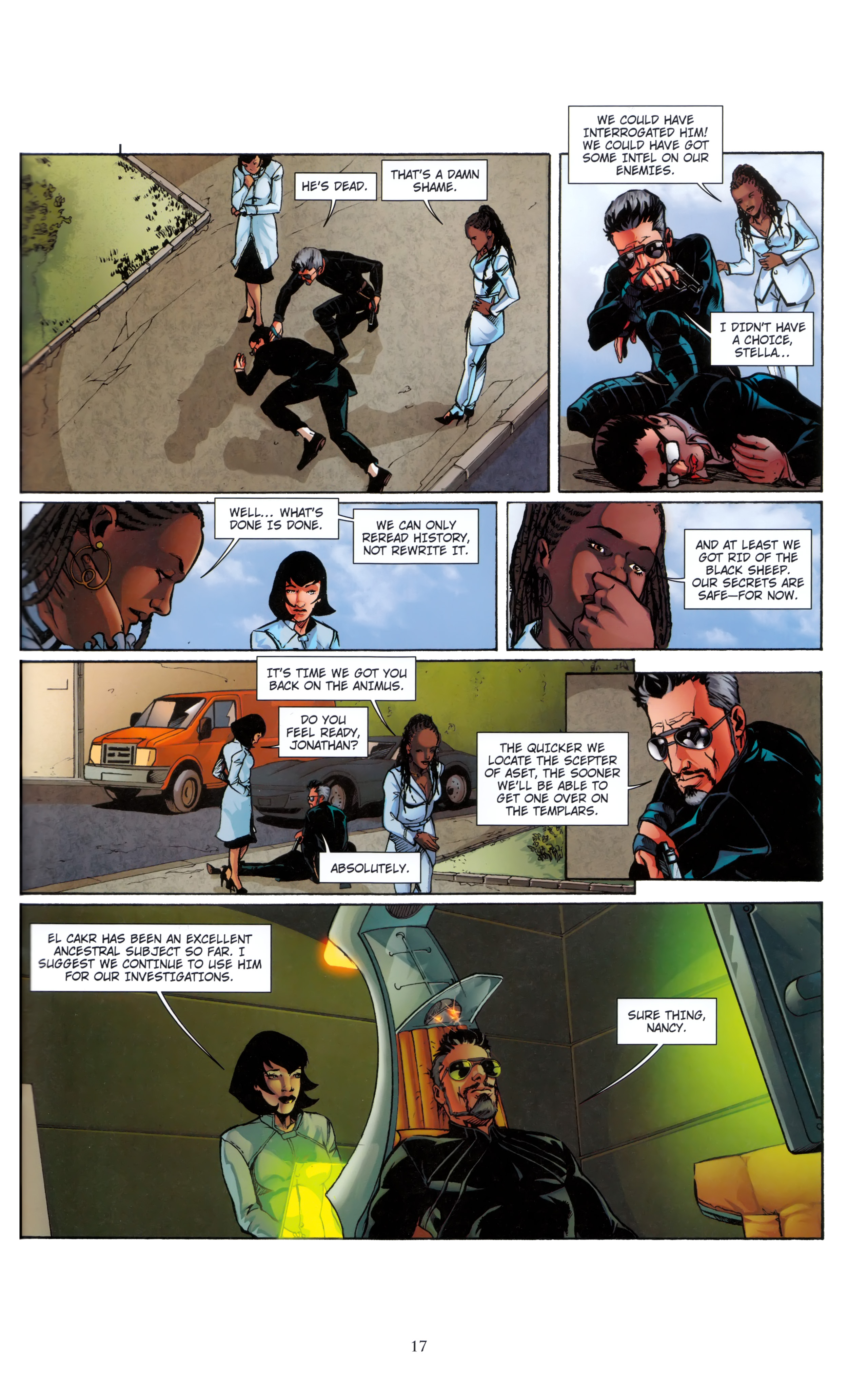 Read online Assassin's Creed (2012) comic -  Issue #5 - 17