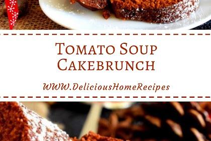 Tomato Soup Cake #christmas #cake