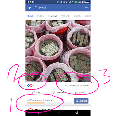 facebook page likes