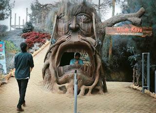 Uniknya Omah Kayu Malang 'Not Just Tree House'