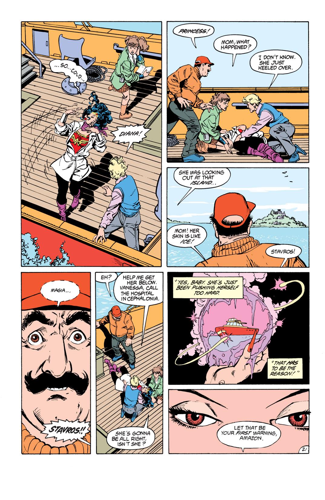 Read online Wonder Woman (1987) comic -  Issue #17 - 22
