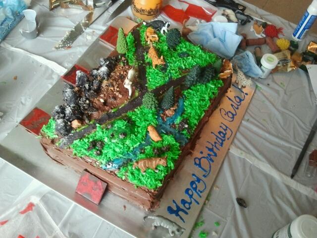 Cooking Crafts Warriors Cat Territories Birthday Cake