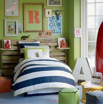 Wooden Pallets For Children's Room Decoration 3