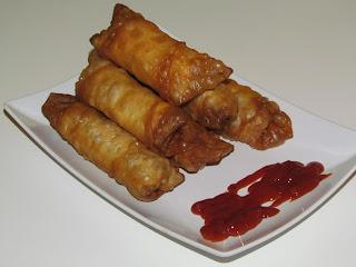 Yufka cu carne tocata / Yufka with minced meat