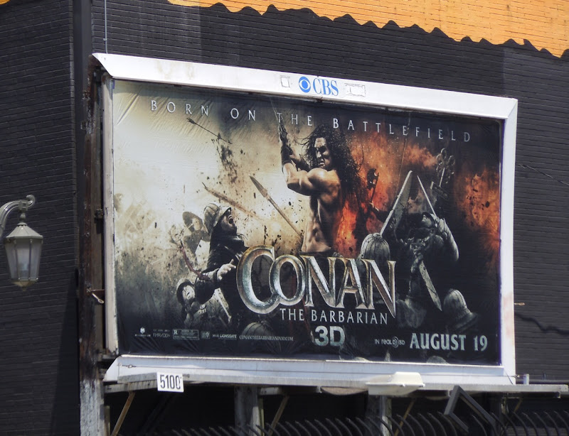 Conan the Barbarian billboard
