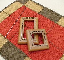 Este tejido se trabaja como el tradicional tambor de bordado 451f76f2019