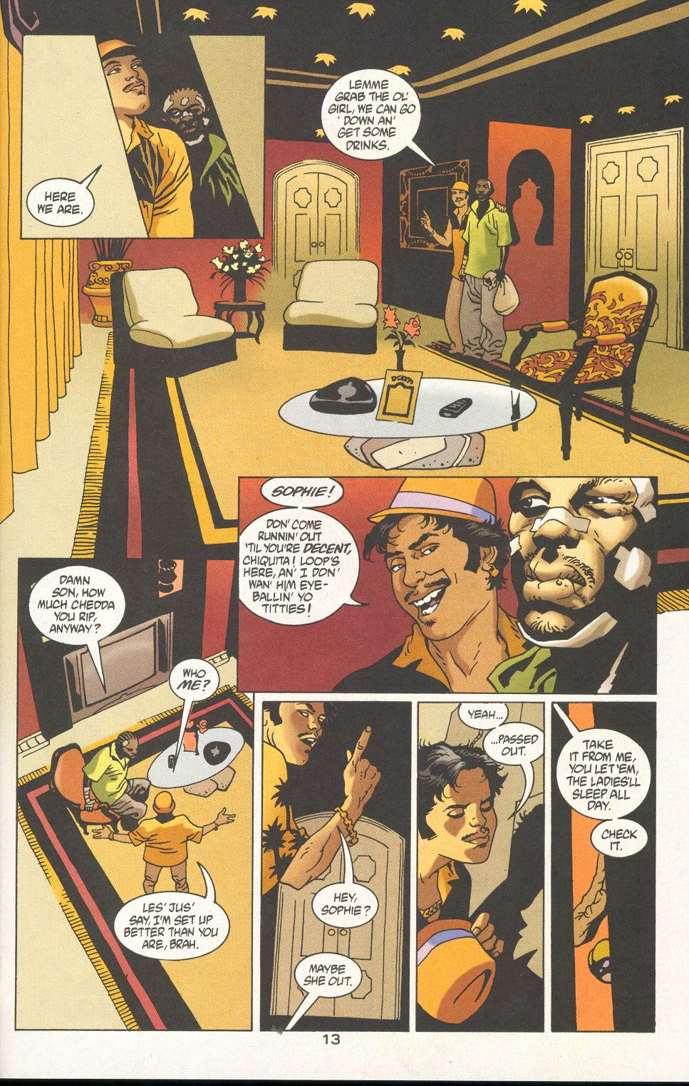 Read online 100 Bullets comic -  Issue #19 - 15