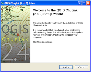 Instalasi QGIS