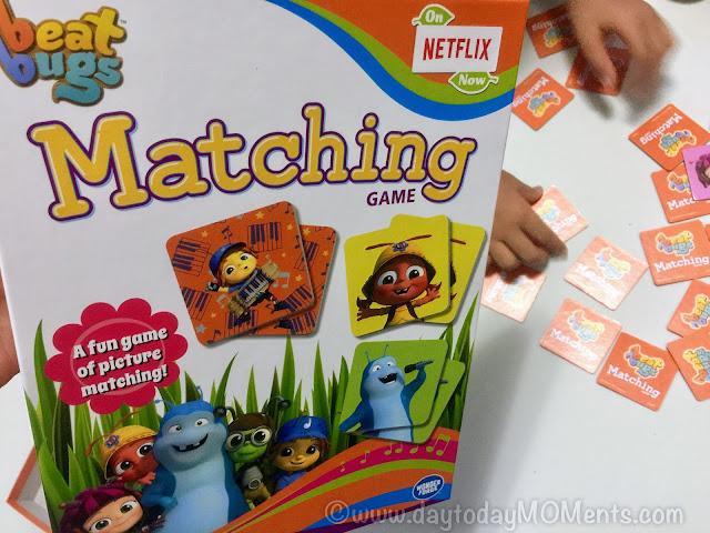 Preschoolers game Beat Bugs