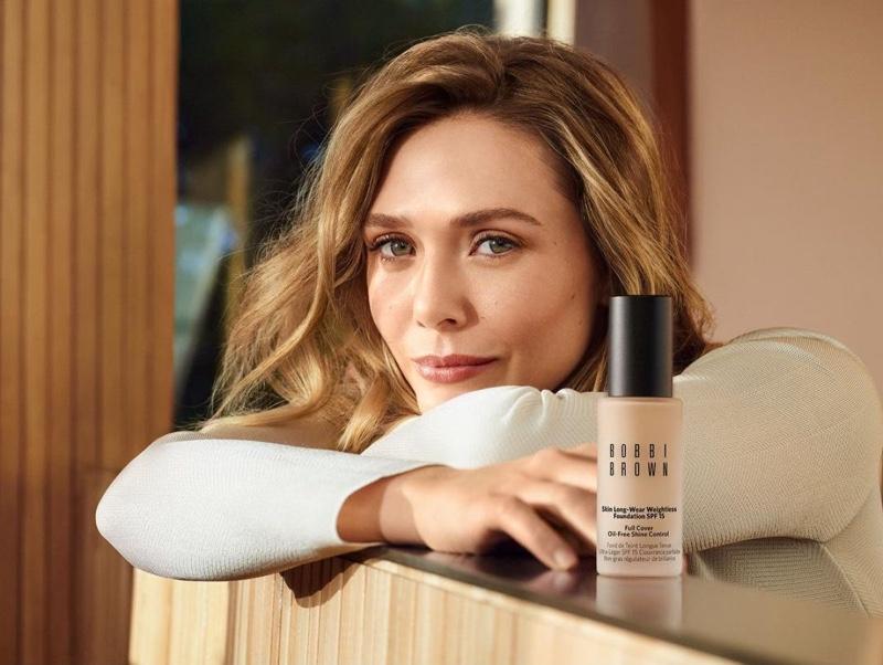 Elizabeth Olsen for Bobbi Brown Cosmetics
