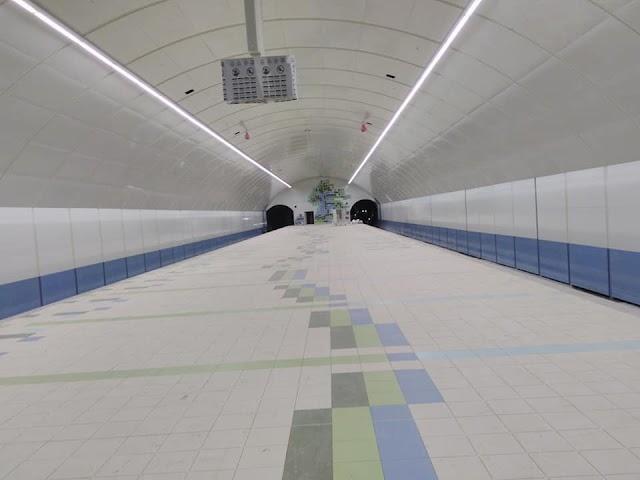 Первые фотографии строящейся станции метро Университет