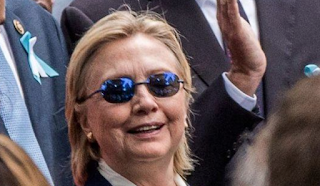 Why Was Hillary Wearing These Glasses When She Fainted? Now We Know!