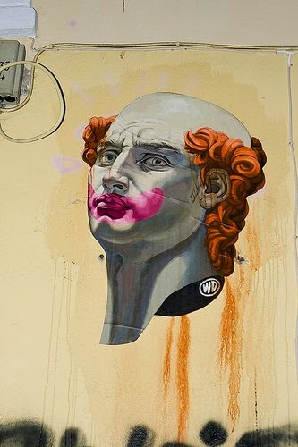 WD (Wild Drawing) Balinese Street Artist Athens