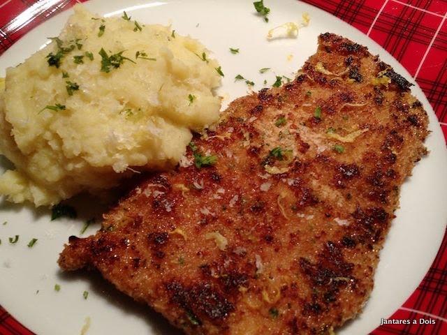 foto schnitzel de porco