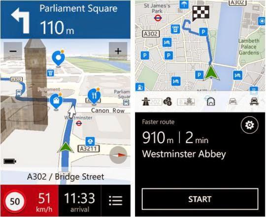 aplikasi peta mudik here maps dan here drive+