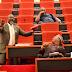 Senator Dino Melaye Kneels Down In The Senate, Begs Colleagues To Save Kogi State