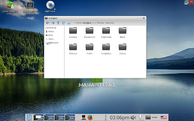 Enlightenment File manager