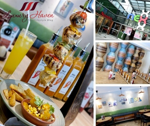 luxury haven lifestyle blog reviews nandos nex serangoon