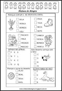 Identificar nomes de desenhos