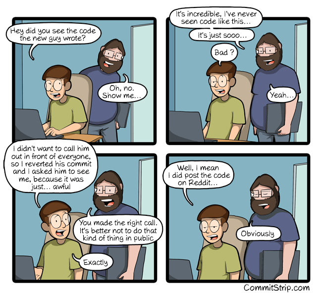 """Don't go down the """"git blame"""" rabbithole 