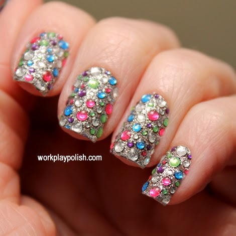 Dashing Diva Carnivale Nail Appliques