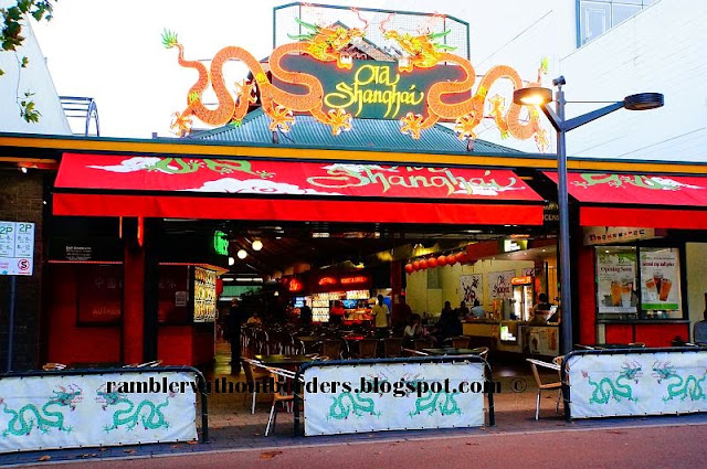 Old Shangai food court on James St in Northbridge, Perth