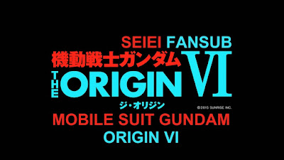 MS Gundam Origin VI - Rise of the Red Comet Subtitle Indonesia