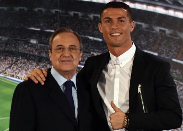 Real Madrid Takkan Jual Ronaldo Meski Dibayar dengan Emas