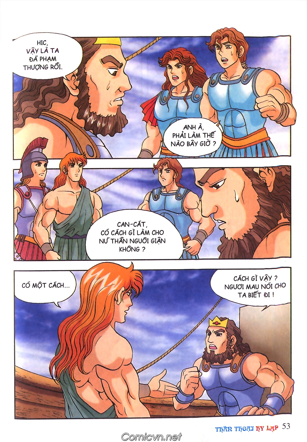 Thần Thoại Hy Lạp Màu - Chapter 53: Trước giờ xung trận - Pic 17