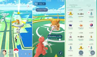 Sebuah game yang dikala ini sedang fenomenal Unduh Game Android Gratis Pokemon GO apk